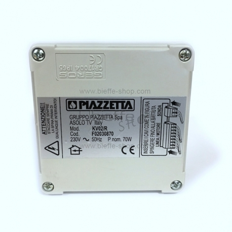 Scatola Radiocomando (Centralina) per Multifuoco System